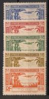 Togo - 1940 - Poste Aérienne PA N°Yv. 1 à 5 - Série Complète - Neuf Luxe ** / MNH / Postfrisch - Nuovi
