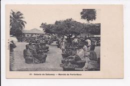 CP DAHOMEY BENIN Marché De Porto Novo - Dahomey