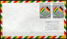 Bolivia 1987 CEFIBOL 1273s SPD Visita Del Presidente De Alemania Federal, Sr. Richard Von Weizsäcker. - Bolivia