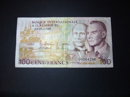 Luxemburg- Luxembourg 100 Francs - Luxembourg