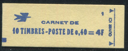 FRANCE - CARNET N° 1536B -C 1 - CONF. 1 - * * - COMPLET FERMÉ & LUXE - Standaardgebruik