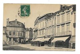 Ribérac - Place Nationale , Tabac, Chapellerie A. Peyroche - Riberac