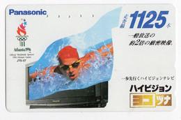 JAPON TELECARTE PANASONIC JO De ATLANTA 1996 - Giochi Olimpici
