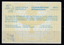 < Oume Cote D'Ivoire Coupon Réponse International ..superbe - Unused Stamps