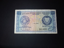 Cyprus 250 Mil - Cyprus