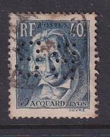 Perfin/perforé/lochung France 1934 No 295 BB Barclay's Bank (28) - Perforés
