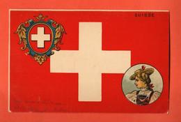 ZIA-08 Suisse Schweiz Litho, Femme En Costume, Tracht. Dos Simple, Circ. Vers Lyon Sous Enveloppe - Other