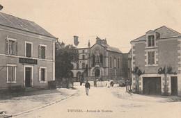 ***  24  ***  THIVIERS  Avenue De Nontron écrite TTBE - Thiviers