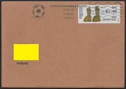 Ireland 2020 Internal Cover 23-07-20 Jack Charlton Portlaoise Mails Cancel  (Ref: 1888) - Briefe U. Dokumente