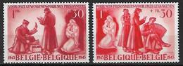 Belgie 1943 Voor De Krijgsgevangenen - Prisoners Of War Yv. 623-624 MNH ** Postfris - Unused Stamps
