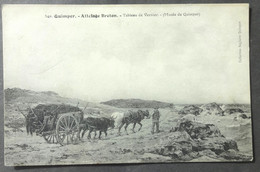 CPA 29 QUIMPER - MUSEE - Attelage Breton - Tableau De Vernier - Anglaret 540 - Réf. B 228 - Quimper