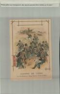 Chromo-Litho MOKA LEROUX Guerre De Chine Les Americains à Yang-Tsoum JANV 2021 99 +127 M) - Tea & Coffee Manufacturers