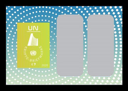 United Nations (Vienna) 2020 Mih. 1100 (Bl.61) Crypto Stamp MNH ** - Neufs
