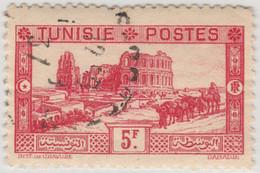 TUNISIE 1931 - Yv.178 5fr Rose D.11 - Oblitéré TB (Ref.917c) - Oblitérés