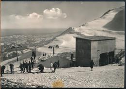 °°° 23169 - SARNANO - STAZIONE SUPERIORE FUNIVIA SASSOTETTO (MC) 1965 °°° - Other Cities