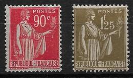 France N°285* Et 287* Cote 127€ - Ongebruikt
