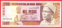 Guinea-Bissau - 1000 Pesos 1993 UNC / Papier Monnaie - Guiné-Bissau - Guinea-Bissau