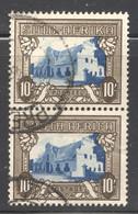 1939   10/- Groot Constantia  Vertical  Bilingual Pairs SG 64c  Used - Usati