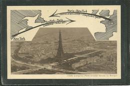 DEUX DATES HISTORIQUES - LINDBERGH 1927 - COSTES ET BELLONTE 1930 ..... (ref 1429) - 1919-1938