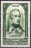 France 1948 - Mi 813 - YT 795 ( Alphonse De Lamartine, Writer And Poet ) MNH** - Nuovi