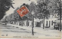 COURBEVOIE - AVENUE GAMBETTA - CÔTÉ NORD - Courbevoie