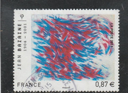 FRANCE 2011 JEAN BAZAINE OBLITERE YT 4537 - (note) - Used Stamps