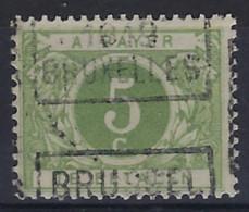 Nr. TX12A Voorafgestempeld  BRUSSEL 1919 BRUXELLES In Goede Staat ! Verkoop Aan 15 € ! - Roller Precancels 1910-19