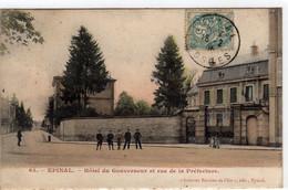 Epinal Hotel Du Gouverneur Et Rue De La Prefecture - Epinal