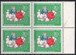 Berlin Poste N** Yv:286 Mi:311 Wohlfahrtsmarke Frau Holle Bloc De 4 - Nuevos