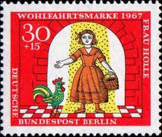 Berlin Poste N** Yv:287 Mi:312 Wohlfahrtsmarke Frau Holle - Nuevos