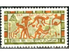 Ref. 189545 * MNH * - EGYPT. 1967. LABOUR DAY . DIA DEL TRABAJO - Nuevos