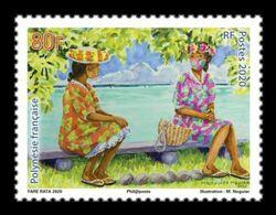 French Polynesia 2020 Mih. 1434 COVID-19 Coronavirus Pandemic MNH ** - Nuevos