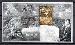 Q-89 Espagne Bloc N° F4601 ** (référence Yvert & Tellier 2019) Sello De Oro A Prueba De Lujo. Ver Comentarios !!! - Blocks & Sheetlets & Panes