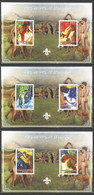UU433 IMPERF 2004 ART PAINTINGS EDGAR DEGAS II SCOUTING 3BL MNH - Other