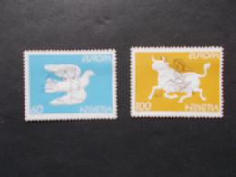 SUISSE / HELVETIA   -  CEPT    N° 1480  / 81  Année 1995  Neuf XX     ( Voir Photo ) - 1995