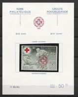 PR44, Met Spoor Van Scharnier Op Kaart Achteraan (zie Scans) - Commemorative Labels