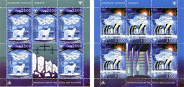 Weissrussland / Belarus / Biélorussie /BIAŁORUŚ 2011 MI.847-48 **,MA.864-65,,YVERT (Bl.83) Protection Of Polar Areas & - Belarus