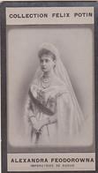 Chromo  Alexandra Feodorowna Impératrice De RUSSIE  ( Format 7 X 4 ) - Rusland