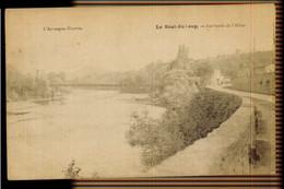 CPA PUY DE DOME LE SAUT DU LOUP LES BORDS DE L'ALLIER 1909 DOUSSET EDIT ST GERMAIN LEMBRON - Sin Clasificación