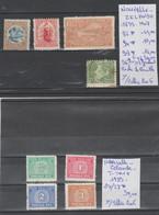 TIMBRES  DE NOUVELLE-ZELANDE NEUF /*/+ TIMBRE-TAXE 1899-1907-39  Nr VOIR SUR PAPIER AVEC TIMBRES COTE 66 € - Ungebraucht