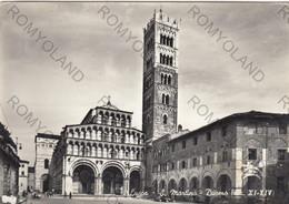CARTOLINA LUCCA,TOSCANA,S.MARTINO-DUOMO (sec.XI-XIV) STORIA,CULTURA,RELIGIONE,IMPERO ROMANO, VIAGGIATA 1962 - Lucca