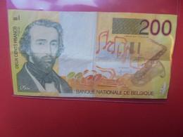 BELGIQUE 200 Francs 1996-2001 Circuler - 100 Francs