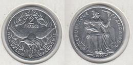 NOUVELLE CALEDONIE  2 Francs 1990 2F KM#14 - New Caledonia