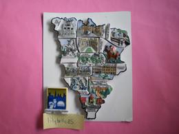 Série Complète PUZZLE De 13 Feves Perso Anciennes En Porcelaine Série LES YVELINES II 2004 ( Feve Figurine Miniature ) - Région