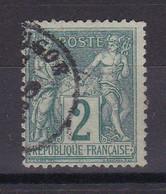 D105 / SAGE N° 74 OBL COTE 30€ - 1876-1898 Sage (Tipo II)