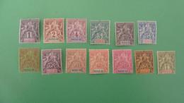 NOSSI BE - Unused Stamps