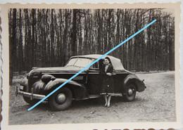 Photo AUTO Automobile Oldtimer Vers 1935-40 Voiture Car Belgium Wagen - Cars