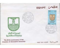 Ref. 639443 * MNH * - EGYPT. 1989. 50 AÑOS DE LA CREACION DE LA FACULTAD D'ALEXANDRIA - Cartas