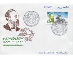 Ref. 575131 * MNH * - EGYPT. 1997. CENTENARY OF THE BIRTH OF THE FOUNDER OF UPU . CENTENARIO DEL NACIMIENTO DEL FUNDADO - Cartas