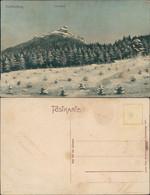Ansichtskarte Reichenberg Liberec Winterpartie Am Jeschken 1907  - Tschechische Republik